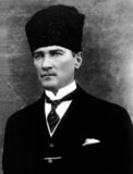 Mustafa Kemal Atatürk (1881–10 November 1938) was an Ottoman and Turkish army officer, revolutionary statesman, writer, and the first President of Turkey.<br/><br/>  He is credited with being the founder of the modern Turkish state. Atatürk was a military officer during World War I. Following the defeat of the Ottoman Empire in World War I, he led the Turkish national movement in the Turkish War of Independence.<br/><br/>  Having established a provisional government in Ankara, he defeated the forces sent by the Allies. His military campaigns gained Turkey independence. Atatürk then embarked upon a program of political, economic, and cultural reforms, seeking to transform the former Ottoman Empire into a modern, westernized and secular nation-state.<br/><br/>  The principles of Atatürk's reforms, upon which modern Turkey was established, are referred to as Kemalism.