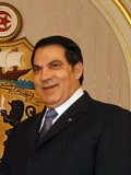 Zine El Abidine Ben Ali (born 3 September 1936) was the second President of the Tunisian Republic. He held the office from 7 November 1987, until he was forced to step down and flee the country on 14 January 2011. Ben Ali was appointed Prime Minister in October 1987, and assumed the Presidency in November 1987 in a bloodless coup d'état from then President Habib Bourguiba, who was declared incompetent. Ben Ali was subsequently re-elected with enormous majorities at every election, the final time being 25 October 2009. Following the Tunisian Revolution, he fled to Saudi Arabia. Photo November 2008, Presidencia de la Nación Argentina.