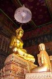 Wat Rakhang Kositaram Woramahawihan (Rakang) was originally built during the Ayutthaya Period (1351 - 1767), but was renovated by King Buddha Yodfa Chulaloke (Rama I, 20 March 1736 – 7 September 1809), and sits on the Thonburi side of Bangkok's Chao Phraya River. Rama I lived within the temple compound before he became king.