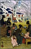 Helen Hyde (April 6, 1868 - May 13, 1919) was an American etcher and engraver. She is best known for her color etching process and woodblock prints reflecting Japanese women and children characterizations.