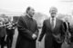 Muhammad Anwar Al Sadat (25 December 1918 – 6 October 1981) was the third President of Egypt, serving from 15 October 1970 until his assassination by fundamentalist army officers on 6 October 1981. He led the War of 1973 against Israel, making him a hero in Egypt and, for a time, throughout the Arab World. Afterwards he engaged in negotiations with Israel, culminating in the Egypt-Israel Peace Treaty. This won him the Nobel Peace Prize but also made him unpopular among some Arabs, resulting in a temporary suspension of Egypt's membership in the Arab League, and eventually his assassination.<br/><br/>  Jimmy Carter was the 39th President of the United States of America (January 20, 1977 – January 20, 1981).