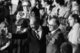 Egyptian President Anwar Sadat and Israeli Prime Minister Menachem Begin acknowledge applause during a joint session of Congress in Washington, D.C., during which President Jimmy Carter announced the results of the Camp David Accords, 18 September 1978.